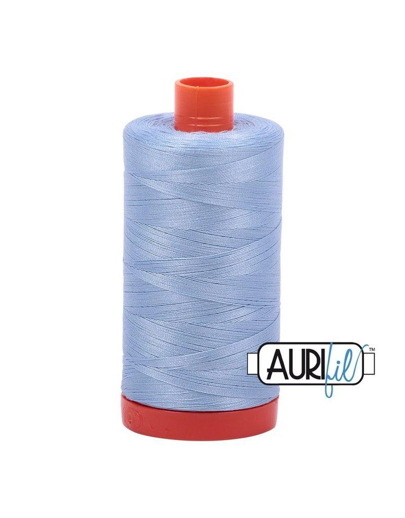 Aurifil 50 wt. Piecing Thread-2715 Robins Egg
