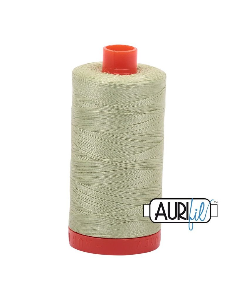 Aurifil 50 wt. Piecing Thread-2886 Light Avocado