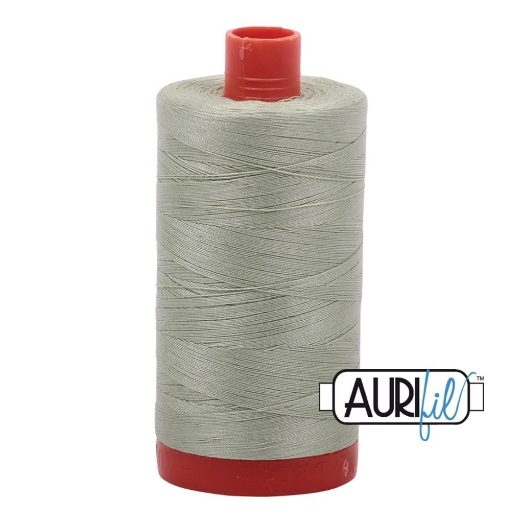Aurifil 50 wt. Piecing Thread-2908 Spearmint