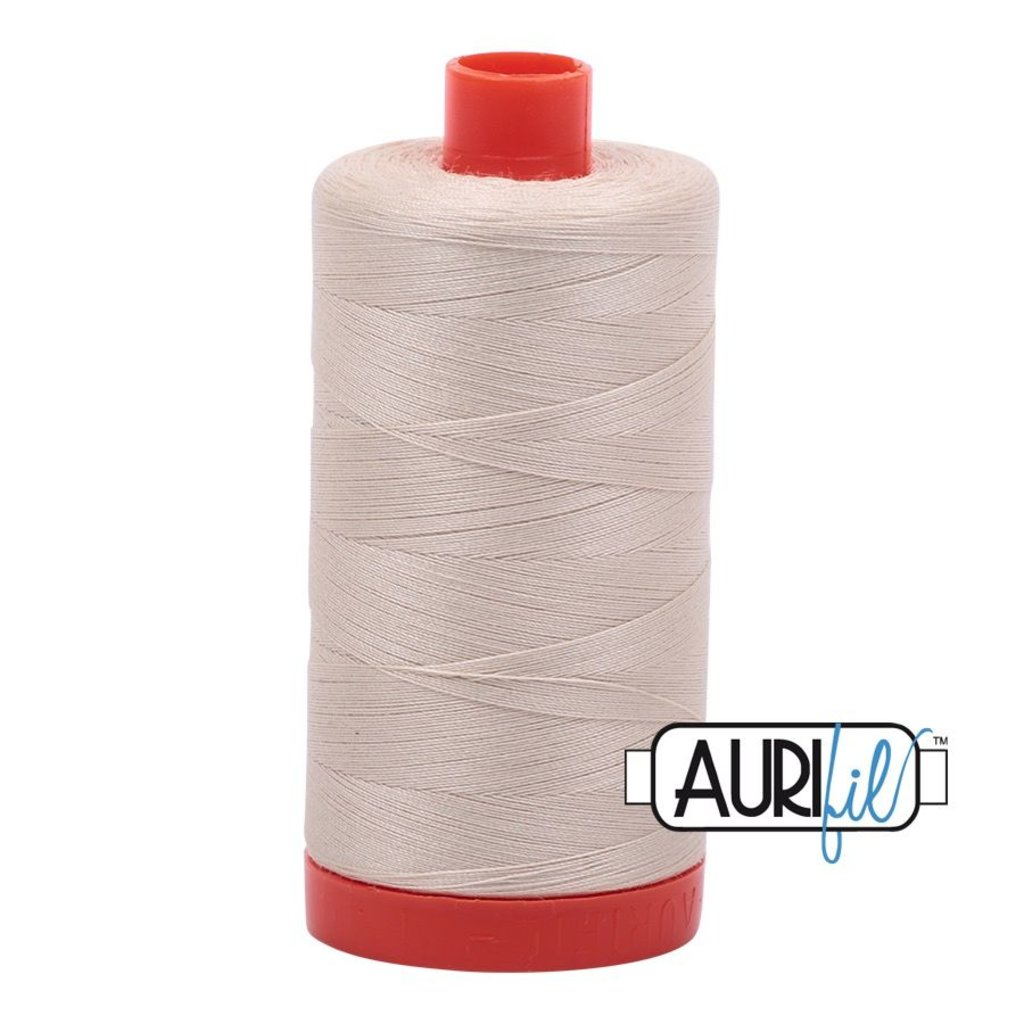 Aurifil 50 wt. Piecing Thread-2310 Tan