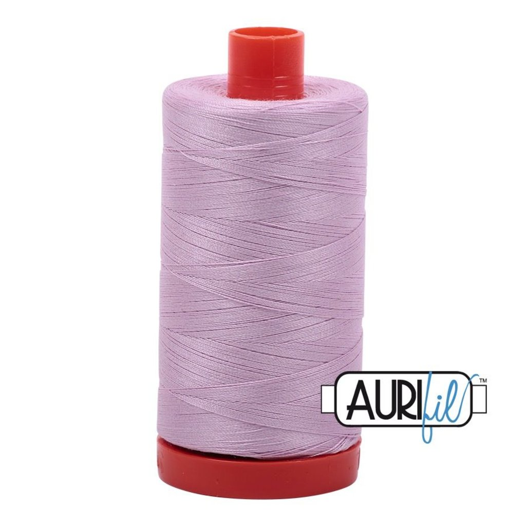 Aurifil 50 wt. Piecing Thread-2510 Light Lilac