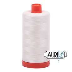 Aurifil 50 wt. Piecing Thread-2026 Chalk