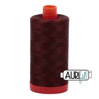 Aurifil 50 wt. Piecing Thread-2360 Chocolate