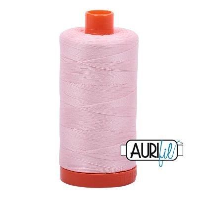 Aurifil 50 wt. Piecing Thread-2410 Pale Pink