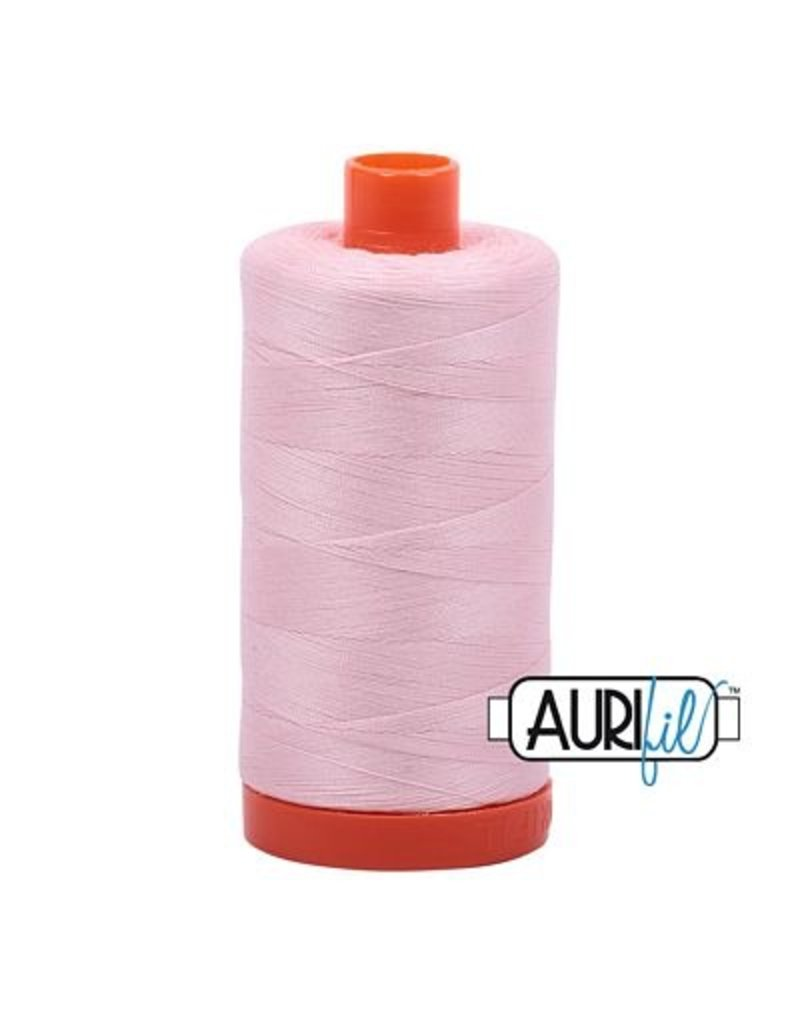 Aurifil 50 wt. Piecing Thread-2410 Pale Pink