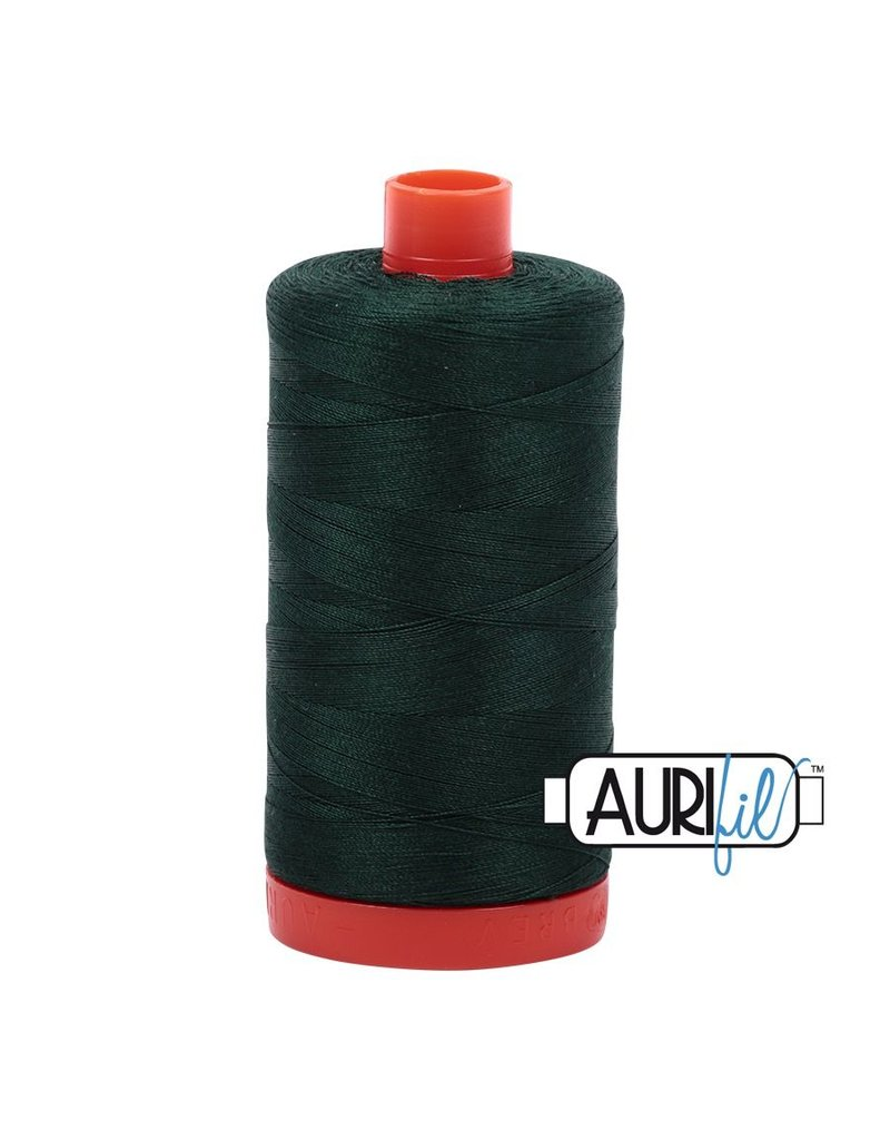 Aurifil 50 wt. Piecing Thread-4026 Forest Green