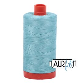 Aurifil 50 wt. Piecing Thread-5006 Light Turquoise