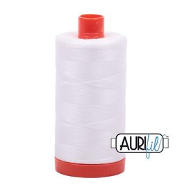 Aurifil 50 wt. Piecing Thread-2021 Off White