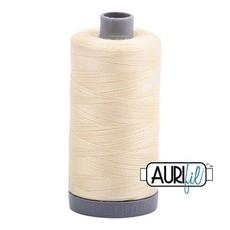 Aurifil 28 wt. Quilting Thread-2110 Light Lemon