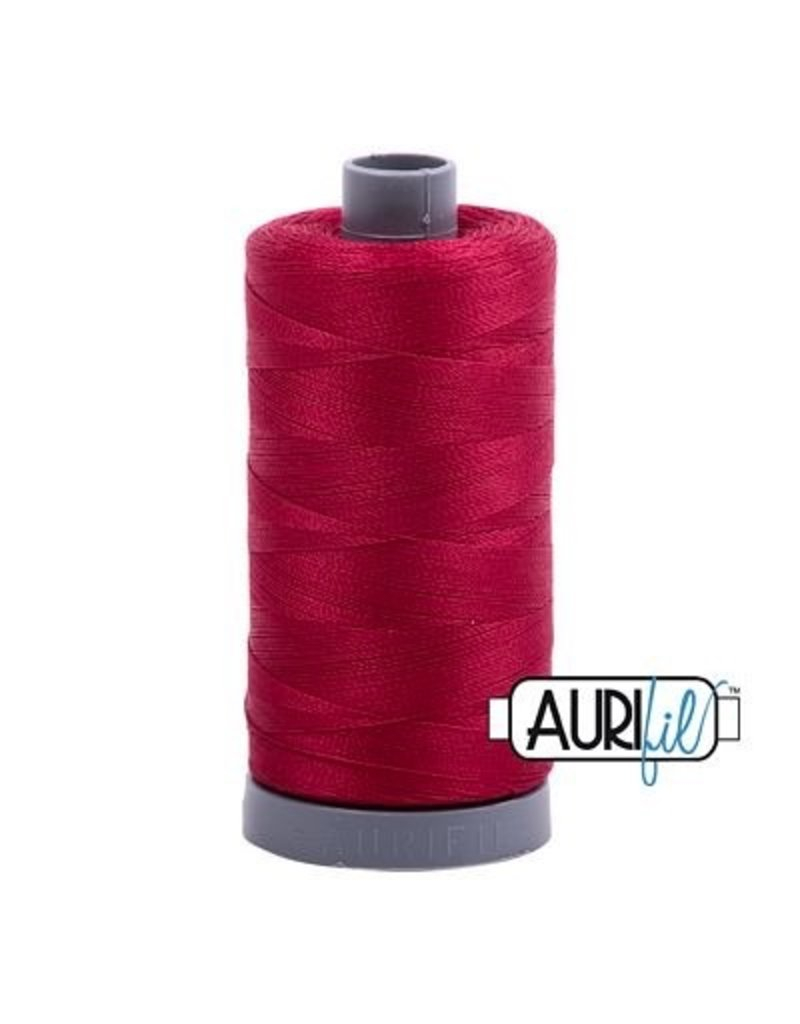 Aurifil 28 wt. Quilting Thread-2260 Wine