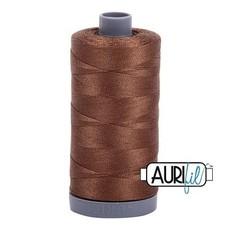 Aurifil 28 wt. Quilting Thread-2372 Dark Antique Gold