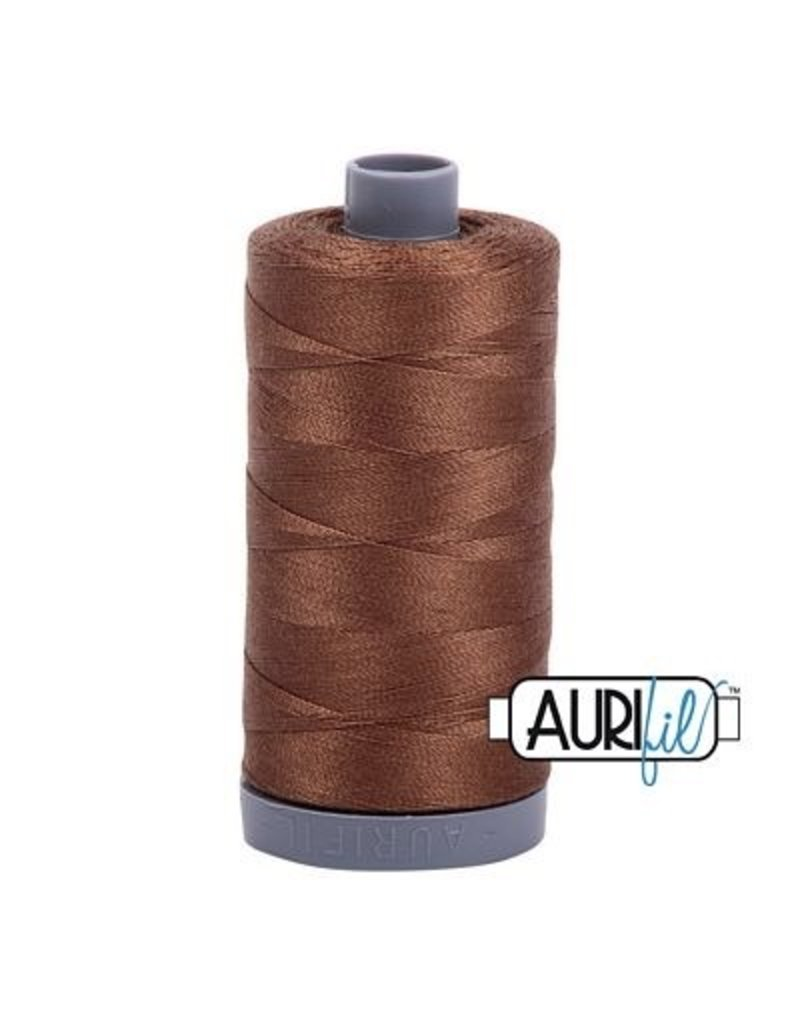 Aurifil 28 wt. Quilting Thread-2372 Dark Antique Gold