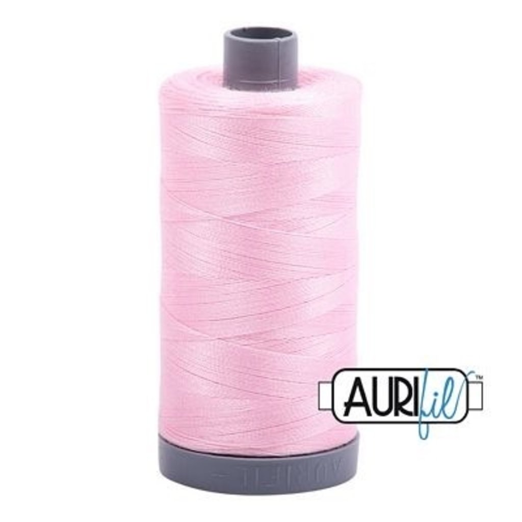 Aurifil 28 wt. Quilting Thread-2423 Baby Pink