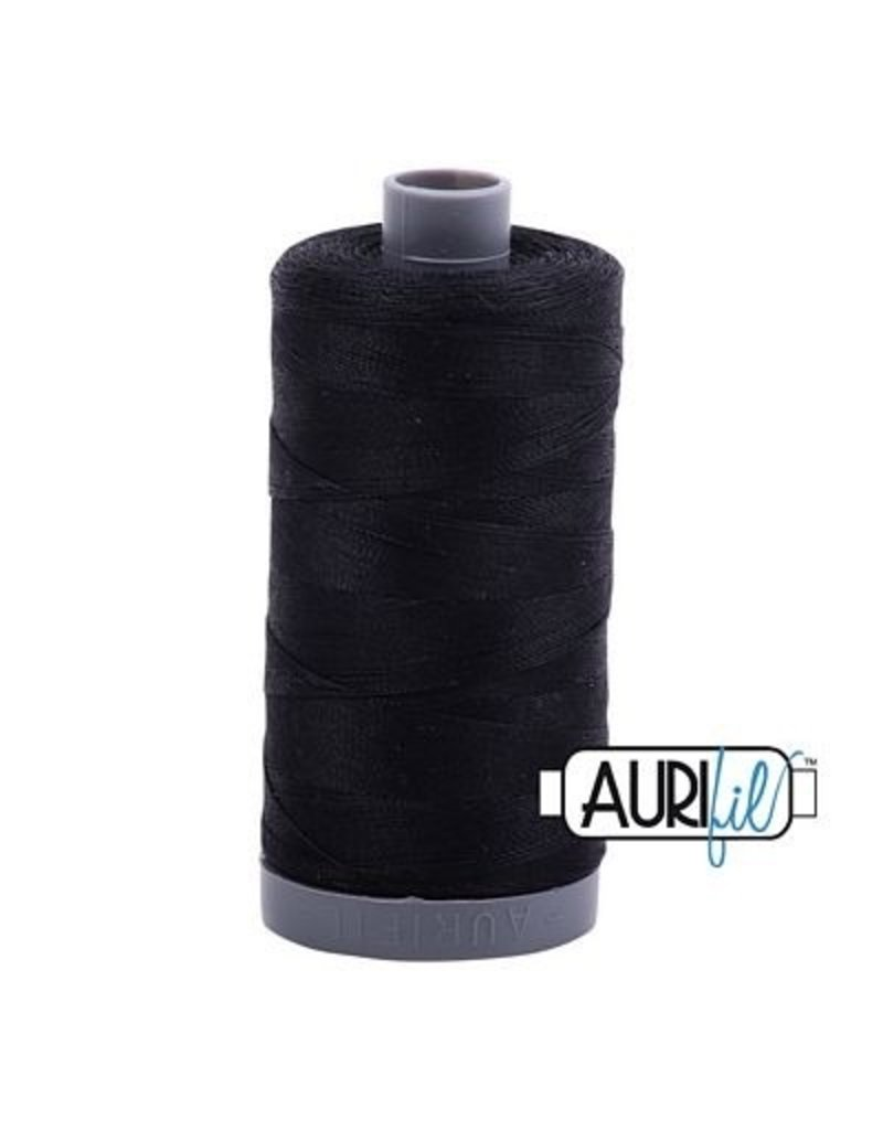 Aurifil 28 wt. Quilting Thread-2692 Black