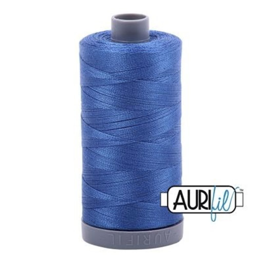 Aurifil 28 wt. Quilting Thread-2730 Delft Blue