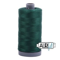 Aurifil 28 wt. Quilting Thread-2885 Medium Spruce
