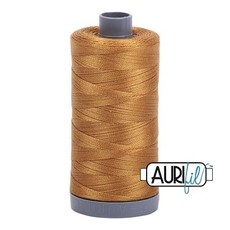 Aurifil 28 wt. Quilting Thread-2975 Brass