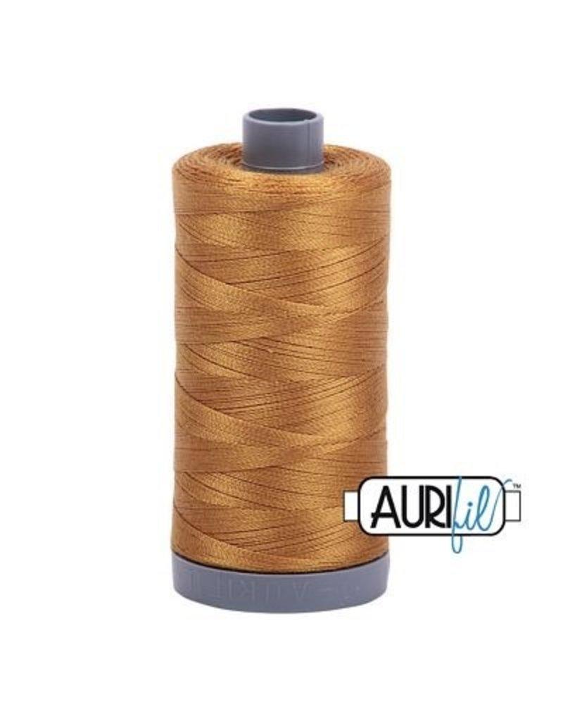 Aurifil 28 wt. Quilting Thread-2975 Brass