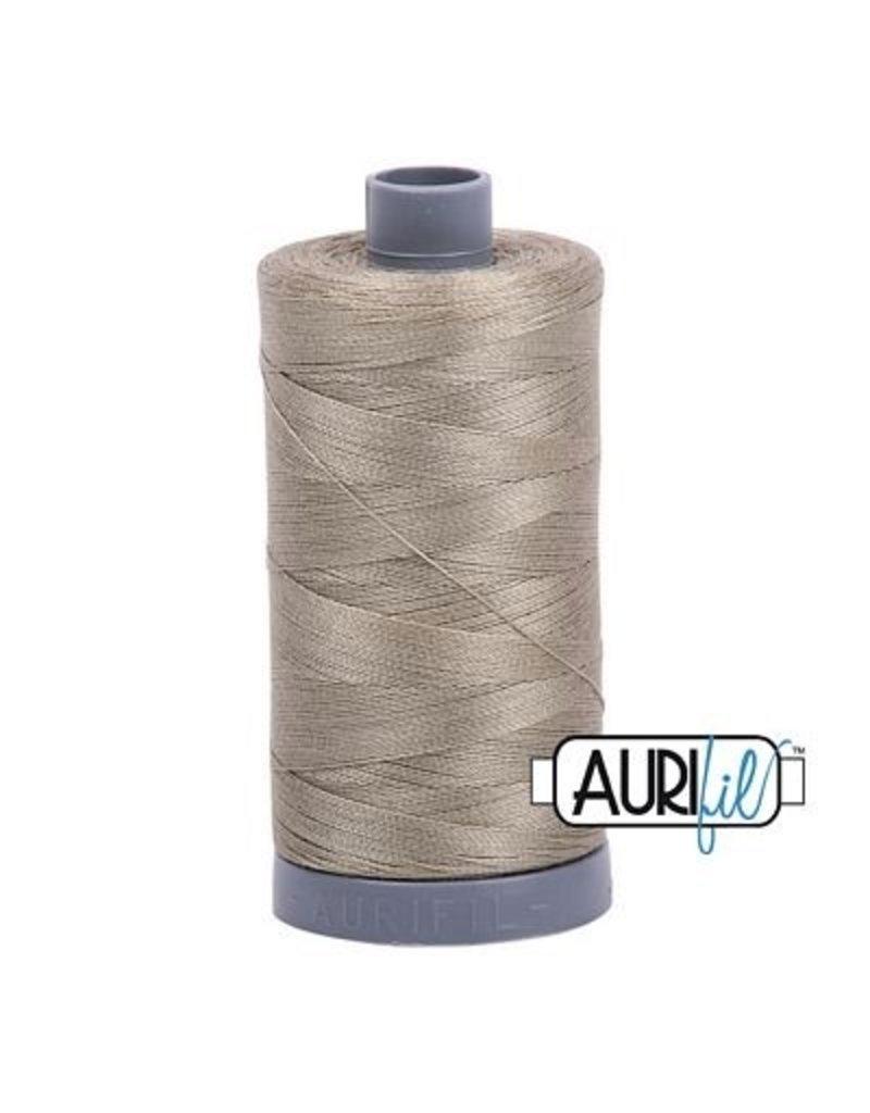 Aurifil 28 wt. Quilting Thread-2900 Light Khaki Green
