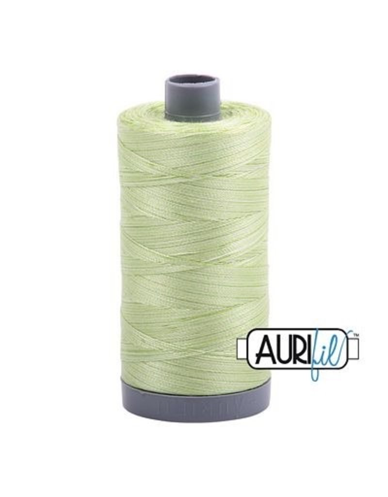 Aurifil 28 wt. Quilting Thread-3320 Light Spring Green