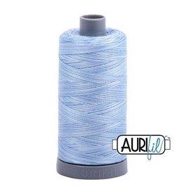 Aurifil 28 wt. Quilting Thread Variegated-3770 Stonewashed Denim