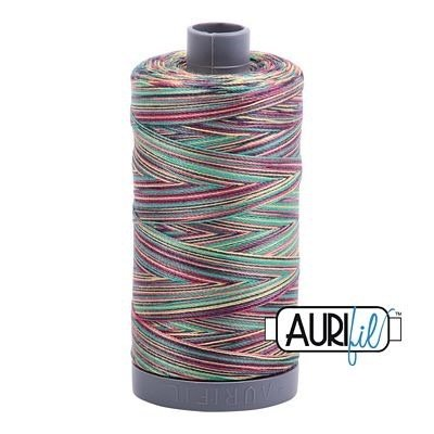 Aurifil 28 wt. Quilting Thread Variegated-3817 Marrakesh