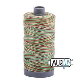 Aurifil 28 wt. Quilting Thread Variegated-4650 Leaves