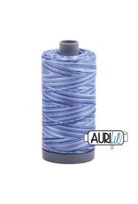 Aurifil 28 wt. Quilting Thread Variegated-4655 Storm At Sea