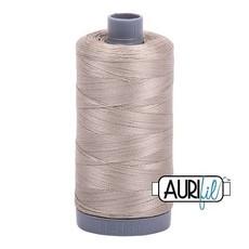 Aurifil 28 wt. Quilting Thread-5011 Rope Beige