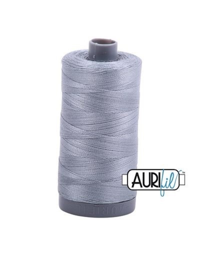 Aurifil 28 wt. Quilting Thread-2610 Light Blue Gray