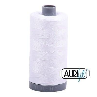 Aurifil 28 wt. Quilting Thread-2024 White