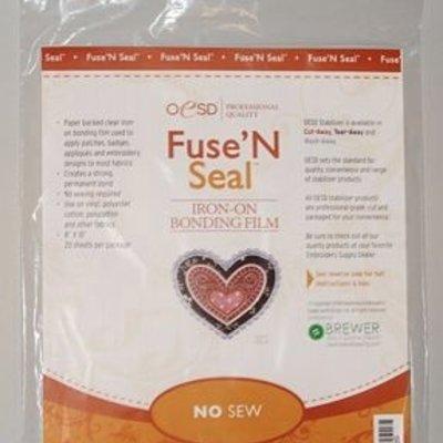 """OESD Fuse'N Seal CutAway 8"""" x 10"""" 20 Sheets"""