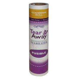 "Fusible Tear-Away 10"" x 5 Classroom Size"