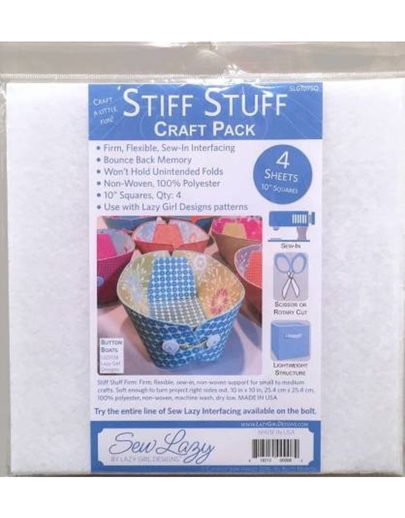 Stiff Stuff 10in Squares Craft Pack