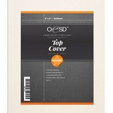 """OESD Top Cover Permanent Topping 8"""" x  9"""" Sheets"""