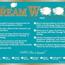 Dream Wool Batting-Queen