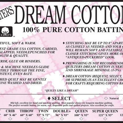 Select White Cotton Craft