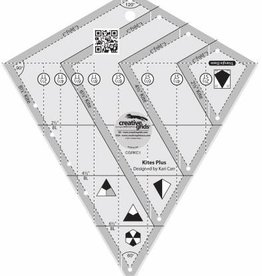 Creative Grids Kites Plus Ruler