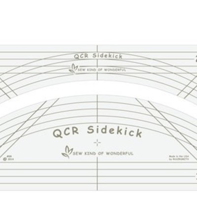 QCR Sidekick Long-arm Ruler Set