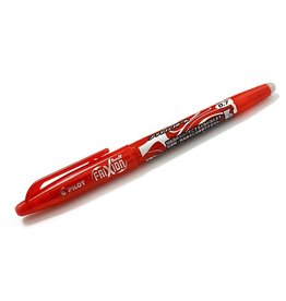 Frixion Ball Erasable Gel Pen-Red