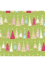 Be Merry Flannel F7014-Green