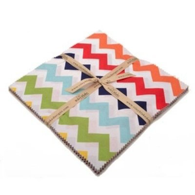 Riley Blake Medium Chevron 10 Inch Stackers