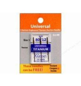 Klasse Needles- Universal Titanium 80/12