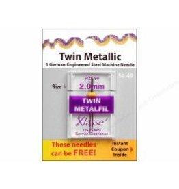 Klasse Needles- Twin Metallic 2.0mm/80