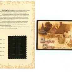 Jeana Kimball's Foxglove Cottage Betweens Needle Sampler Card