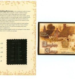 Jeana Kimball's Foxglove Cottage Betweens Needle Sampler Card