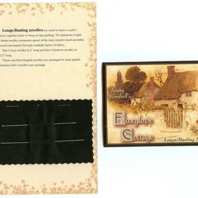 Long/Basting Needle Card