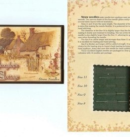 Jeana Kimball's Foxglove Cottage Straw Needle Sampler Card
