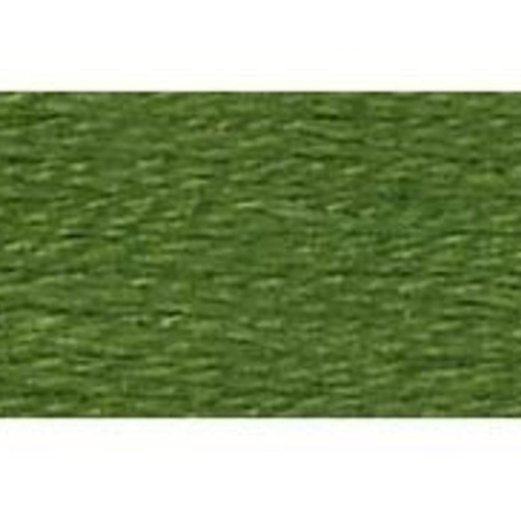 DMC Embroidery Floss-Med. Avacado Green