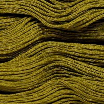 Presencia Embroidery Floss-5400 Dark Olive Green